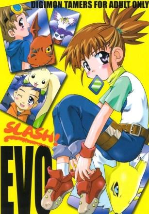 เข้ากันได้ดี – (CR30) [Houkago Paradise, Jigen Bakudan (Sasorigatame, Kanibasami)] Evolution Slash (Digimon Tamers)